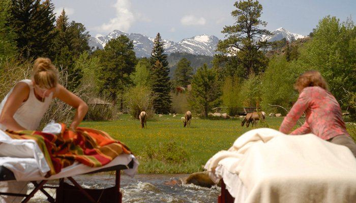 outdoor massages