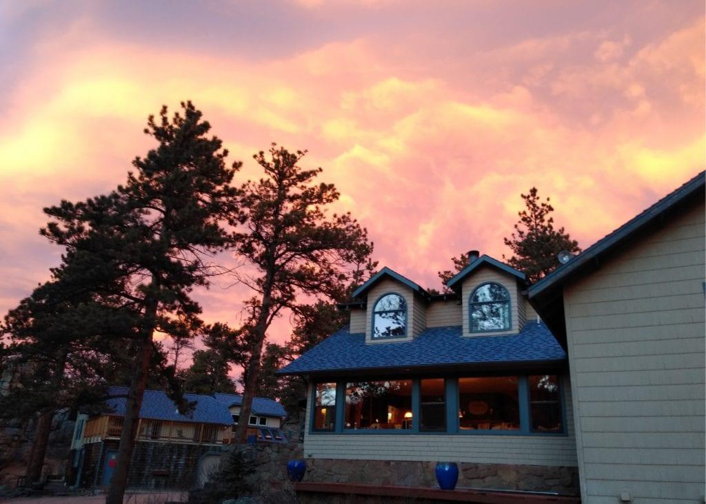 Sunsets in Estes Park