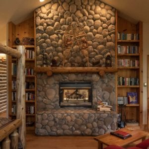 Meadow Bright fireplace