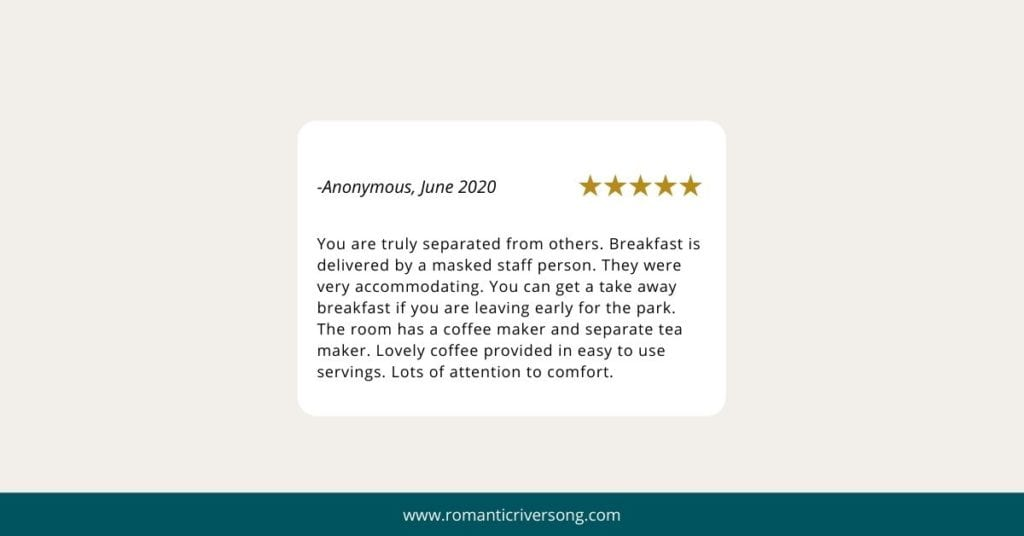 Riversong guest reviews